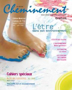 Couverture du magazine Cheminement