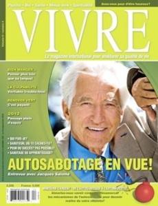 couverture Vivre Mars- Avril 2009