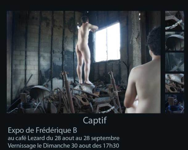 Captif-lezard