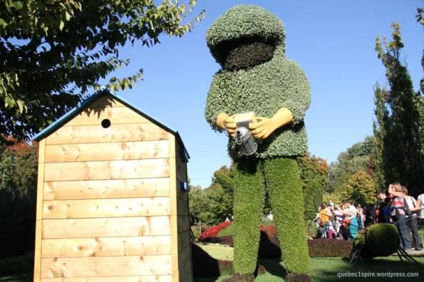 L'apiculteur géant