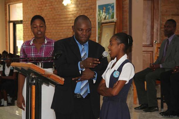 La parole est donnée à une jeune élue