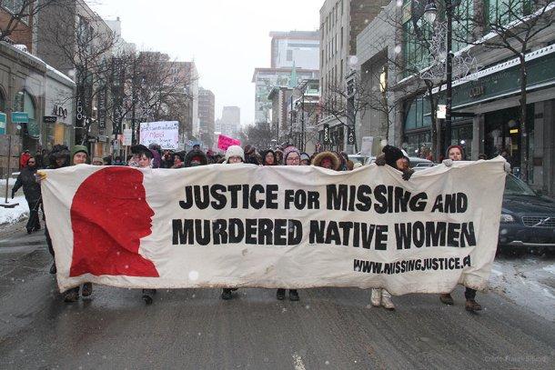 Marche pour les femmes autochtones le 14 février à Montréal