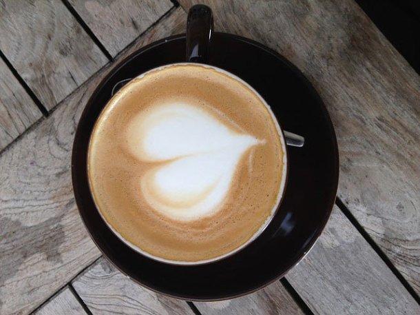 Message d'amour caféiné